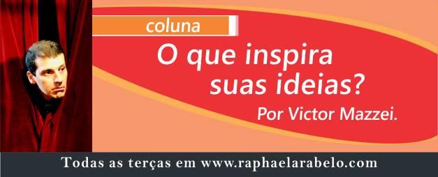 O que inspira suas ideias?